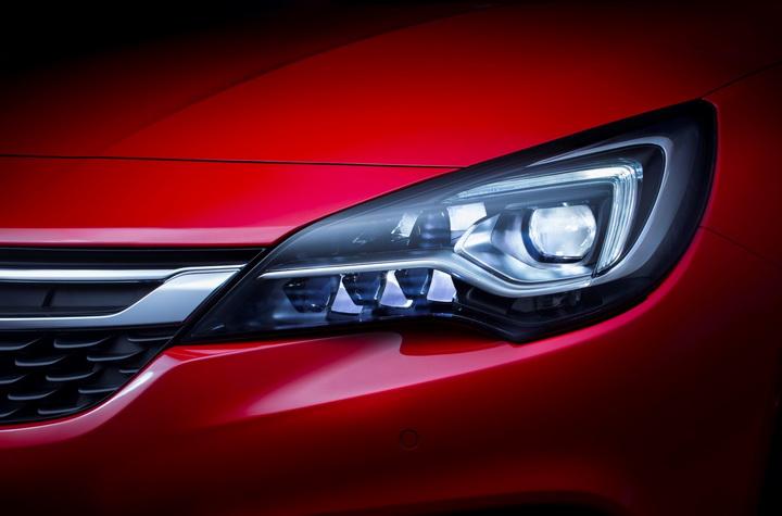 Новый Opel Astra оказался супер-обтекаемым