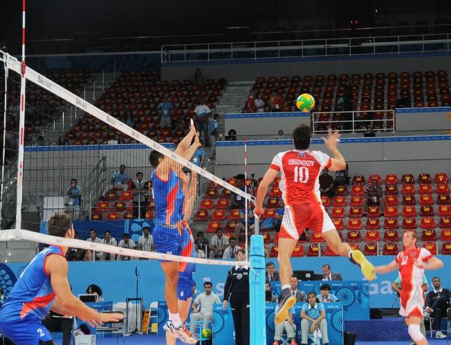 Седьмой день Евроигр: завершился турнир по волейболу среди мужчин - ОБНОВЛЕНО - ФОТО