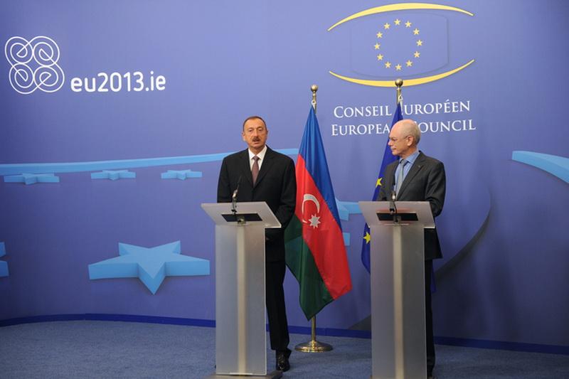 """Президент Ильхам Алиев: """"Мы хотим стать как можно ближе к Европе"""" – ОБНОВЛЕНО – ФОТО"""