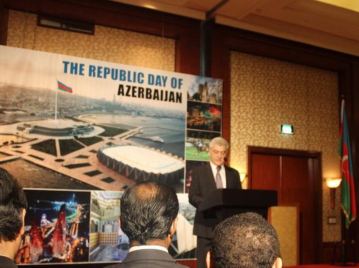 В Джакарте отметили национальный праздник Азербайджана - ФОТО
