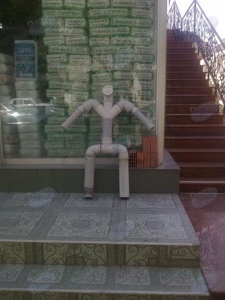 Креативный способ привлечь клиентов в магазин в Баку - МОБИЛЬНЫЙ РЕПОРТЕР – ФОТО