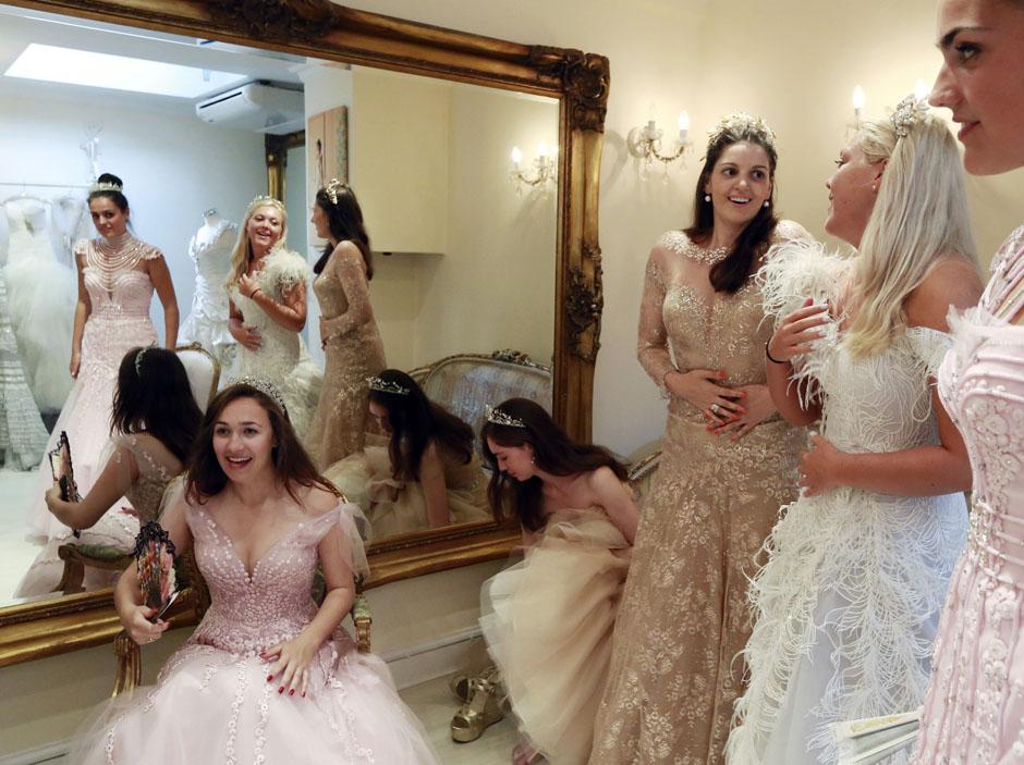 фото богатых невест россии какие