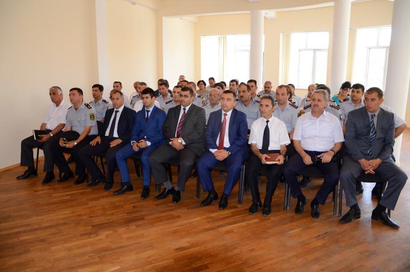 Pirallahı rayonunda Polis Günü qeyd edildi - FOTO