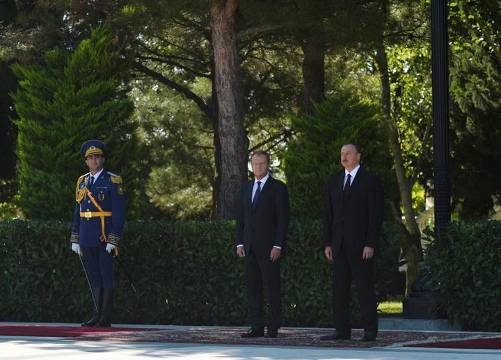 """Президент Ильхам Алиев: """"Саргсян - последний человек, который должен говорить о демократии"""" - ОБНОВЛЕНО - ФОТО - ВИДЕО"""