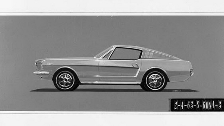 Уникальный прототип Ford Mustang уйдет с аукциона - ФОТО