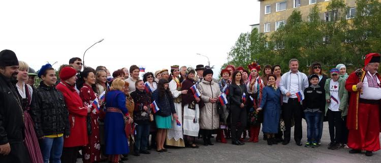 В Мурманске отметили День национального спасения и День России - ФОТО