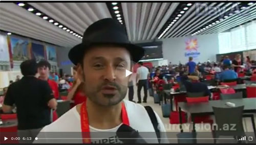 """Иностранные журналисты, приехавшие на """"Евровидение 2012"""", поделились впечатлениями о Баку - ВИДЕО"""