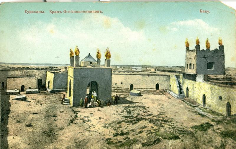 Баку сто лет назад: история в цвете – ФОТО