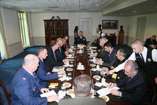 Азербайджан и США обсудили военное сотрудничество - ОБНОВЛЕНО - ФОТО