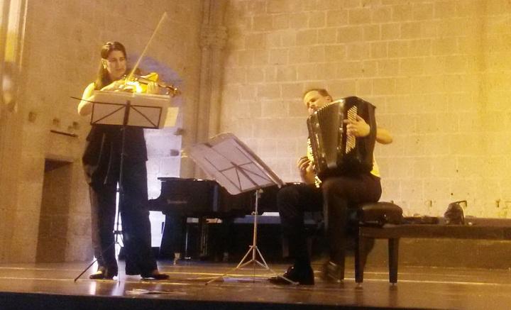 Произведение азербайджанского композитора прозвучало в монастыре - ФОТО