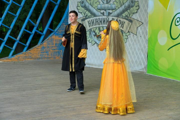 Липчанам представили азербайджанский народный танец - ФОТО