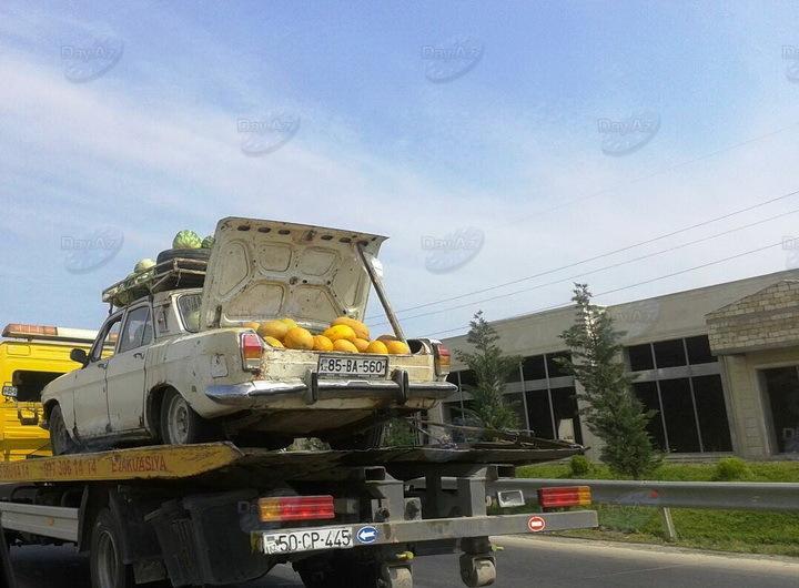 Водитель эвакуатора грубо нарушает правила – ФОТО