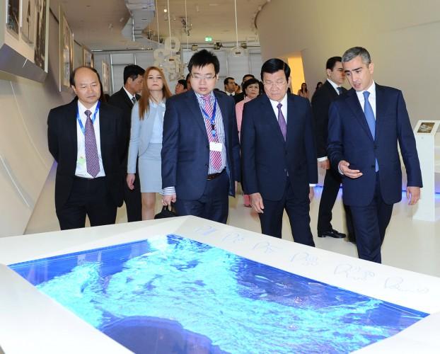 Президент Вьетнама посетил Центр Гейдара Алиева - ОБНОВЛЕНО - ФОТО