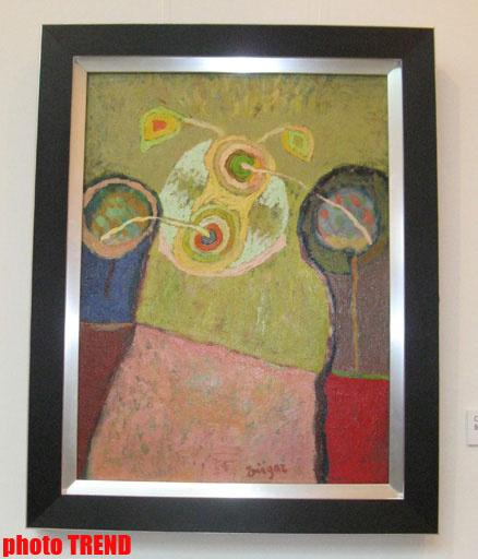 В Баку проходит выставка работ известного художника – ФОТО
