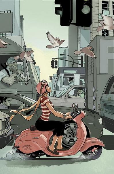 """""""Картинная галерея Day.Az"""": Герои комиксов в работах американского художника - ФОТО"""
