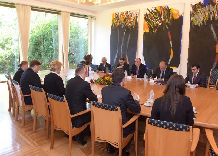 Эльмар Мамедъяров встретился с главой Хорватии - ФОТО