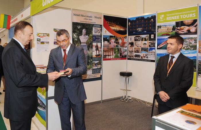 Президент Азербайджана ознакомился с международной выставкой туризма и путешествий в Баку – ОБНОВЛЕНО - ФОТО