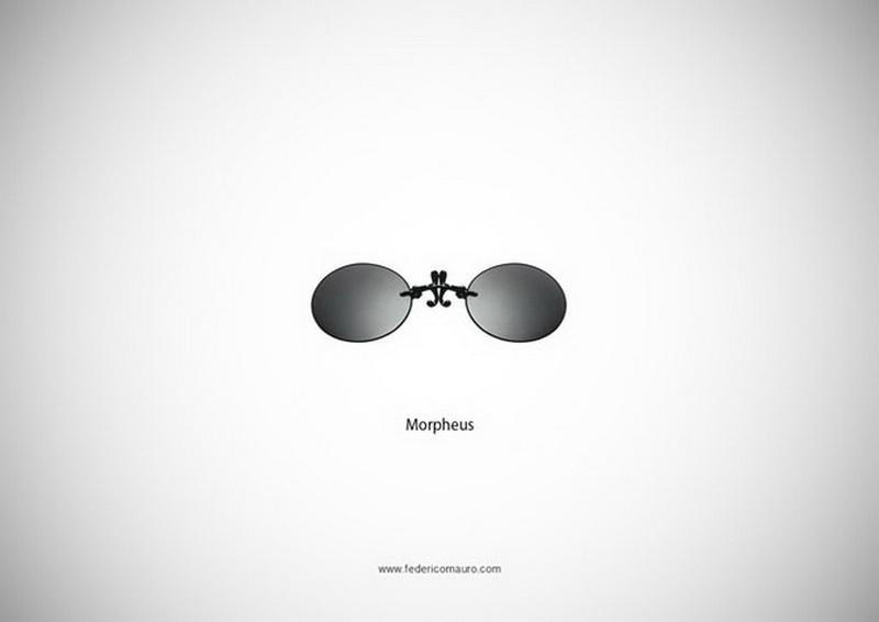 Необычный дизайн солнечных очков - ФОТОСЕССИЯ