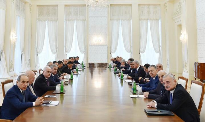 """Президент Ильхам Алиев: """"В последние 11 лет Азербайджан является наиболее динамично развивающейся страной мира по темпам экономического роста"""" - ОБНОВЛЕНО - ФОТО"""