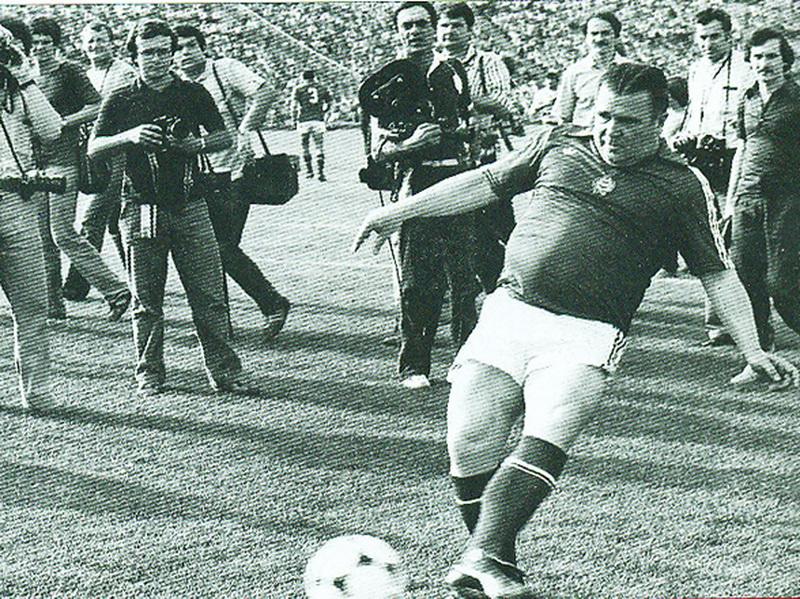 Легенда футбола по имени Ференц Пушкаш - ФОТО
