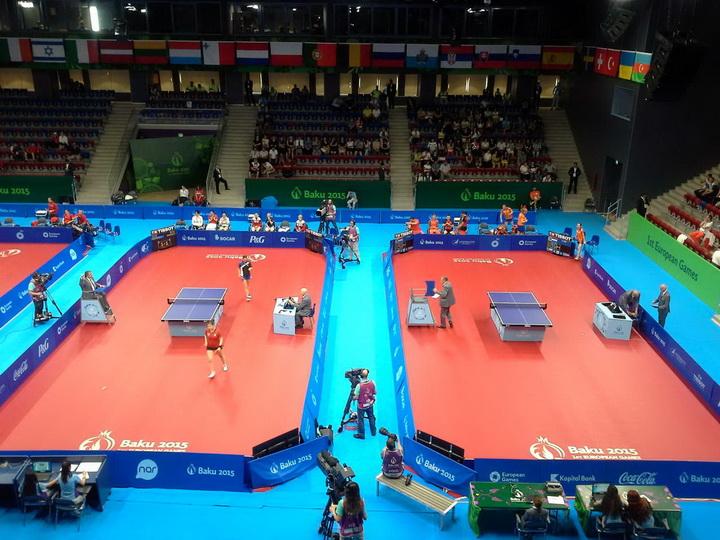 Настольный теннис на Евроиграх: определились финалисты - ОБНОВЛЕНО - ФОТО