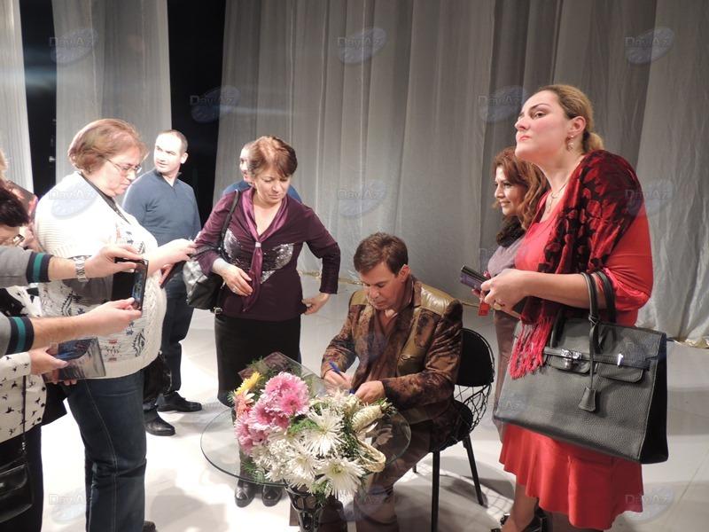Ефим Шифрин заставил бакинцев плакать от смеха – РЕПОРТАЖ - ФОТО