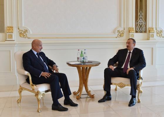 Президент Ильхам Алиев принял гендиректора ИСЕСКО, экс-премьера Италии, экс-президента Эстонии и руководителя ПРООН - ОБНОВЛЕНО - ФОТО
