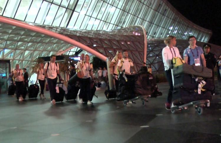 В Баку на Евроигры прибыли спортсмены еще 12 стран - ФОТО