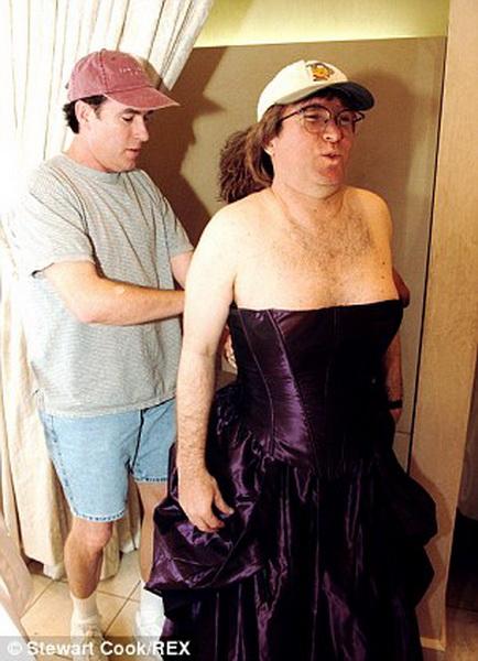 фото мужчина с женской грудью себе пиздец