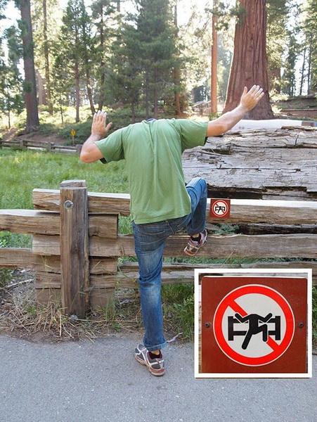 Как творчески бороться с запретами - ФОТОСЕССИЯ