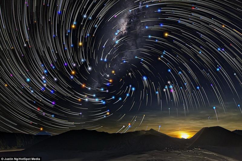 ночная фотосъемка звезд это пожелание дизайнеры
