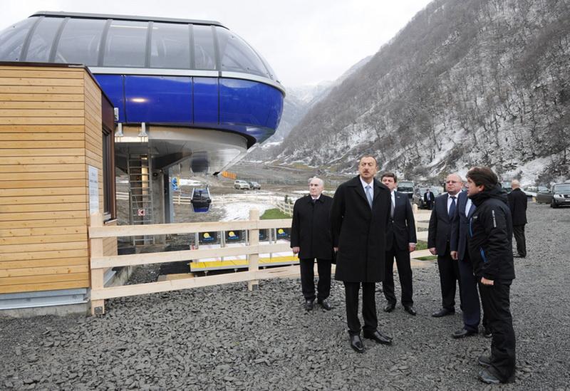 """Президент Ильхам Алиев: """"Габала стала одним из культурных и туристических центров нашей страны"""" - ОБНОВЛЕНО - ФОТО"""
