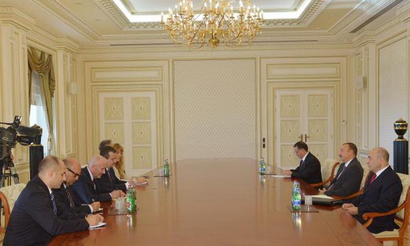 Президент Ильхам Алиев принял министра обороны Израиля, вице-премьера Сербии и первого вице-премьера Кыргызстана - ОБНОВЛЕНО - ФОТО