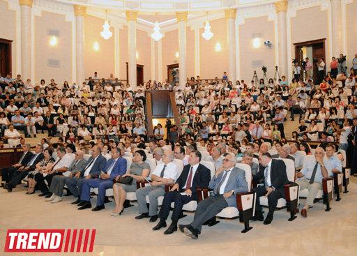 Молодые ученые Азербайджана поддержали кандидатуру Ильхама Алиева на предстоящих президентских выборах - ОБНОВЛЕНО - ФОТО