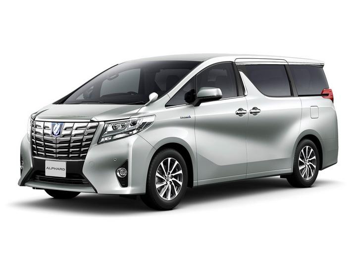 Третье поколение Toyota Alphard дебютировало в Японии - ФОТО