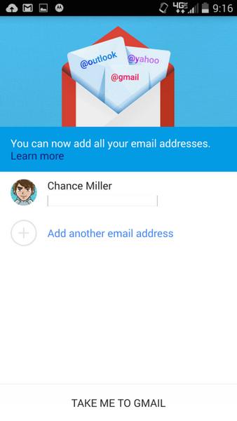 Обновленный Gmail 5.0 будет работать с любым email-аккаунтом - ФОТО