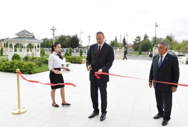 Поездка Президента Ильхама Алиева в Кюрдамирский и Агсуинский районы - ОБНОВЛЕНО - ФОТО - ВИДЕО