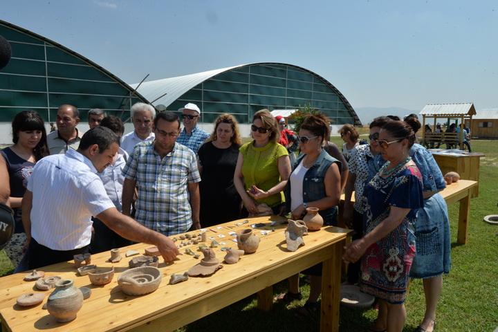 В Агсу прошел Археологический фестиваль - ФОТО