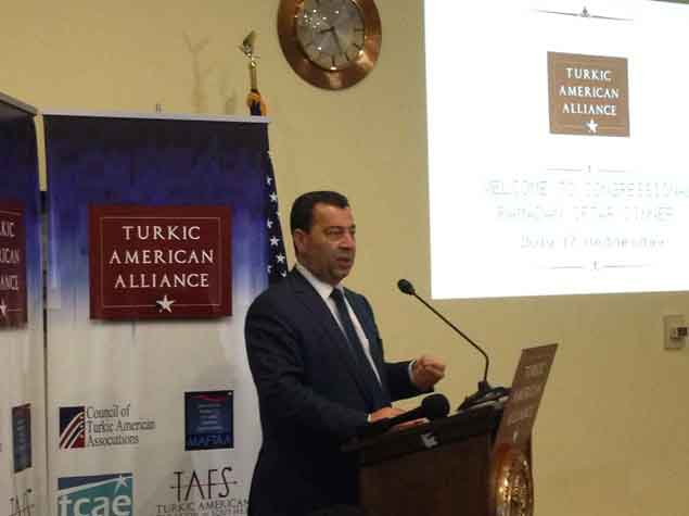 Азербайджанские депутаты приняли участие в ифтаре в Конгрессе США - ФОТО