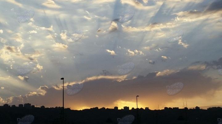 Фантастический пейзаж бакинского утра - МОБИЛЬНЫЙ РЕПОРТЕР - ФОТО