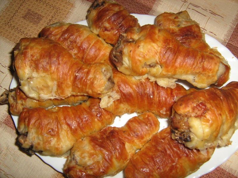 Филе курицы в тесте в духовке рецепт