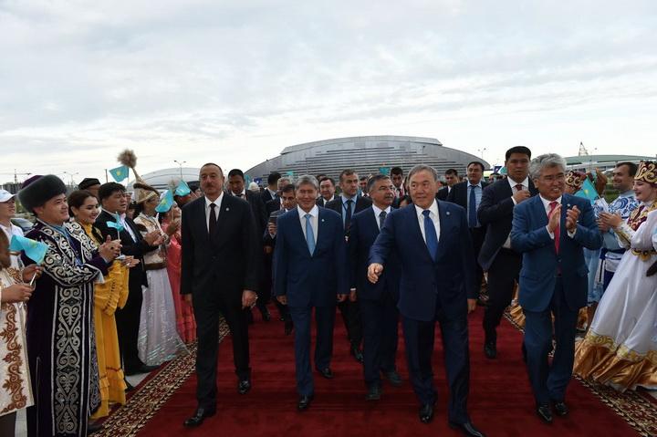 Президент Ильхам Алиев посмотрел в Астане театрализованный спектакль, посвященный 550-летию Казахского ханства - ОБНОВЛЕНО - ФОТО - ВИДЕО