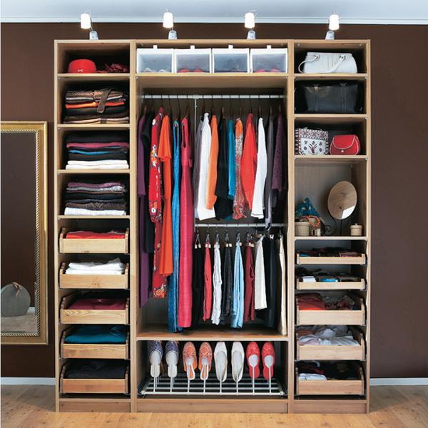 """""""идеально организовать гардероб"""" желание пользователя полика."""