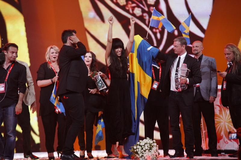 """Швеция стала победительницей """"Евровидения 2012"""" - ОБНОВЛЕНО - ФОТО - ВИДЕО"""