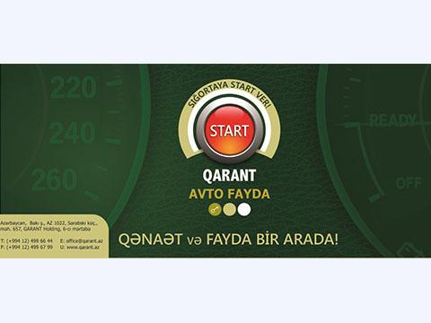 """Оперативность, экономичность и дальновидность - """"Avto fayda"""" от """"Qarant Sığorta"""""""