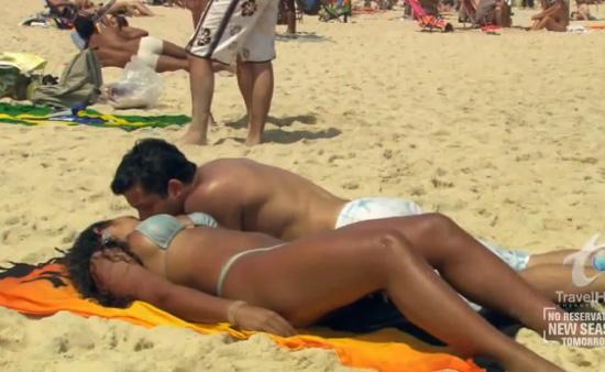 Сексуальные пляжь
