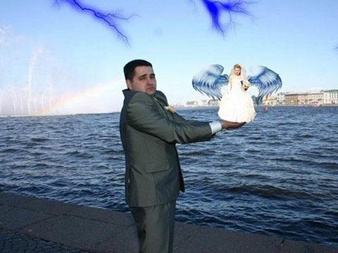 Свадебные ужасные фото