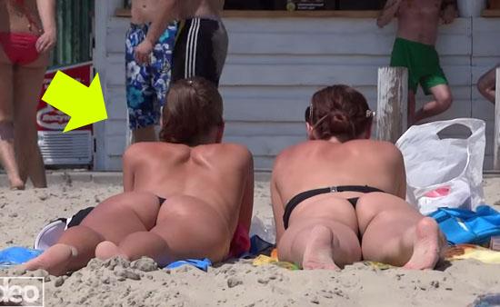 Пляжные девушки фото видео #2
