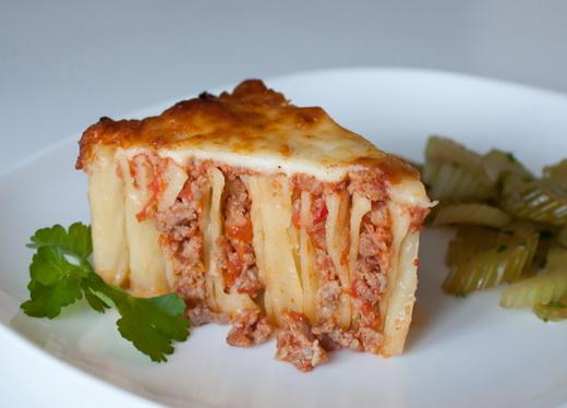 Пошаговый рецепт пирог с мясом 113