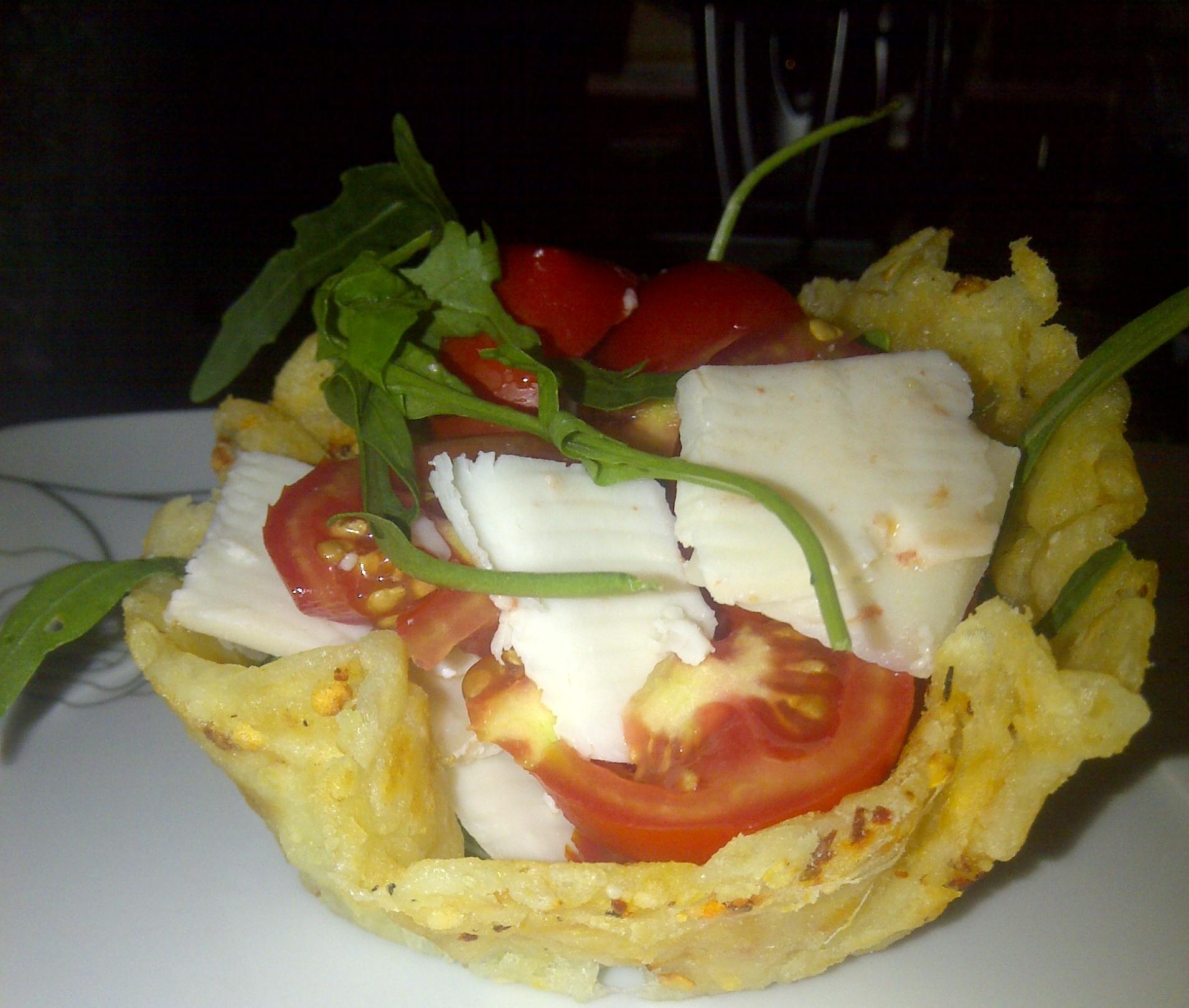 наименьшее салат из сырных корзиночек рецепт фото при условии